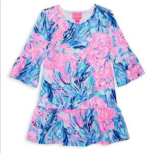 NWOT Lilly Pulitzer Girls Sorrento Dress 8/10